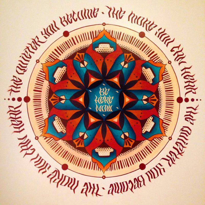 Aurora Healing Arts Mural - Gainesville, FL