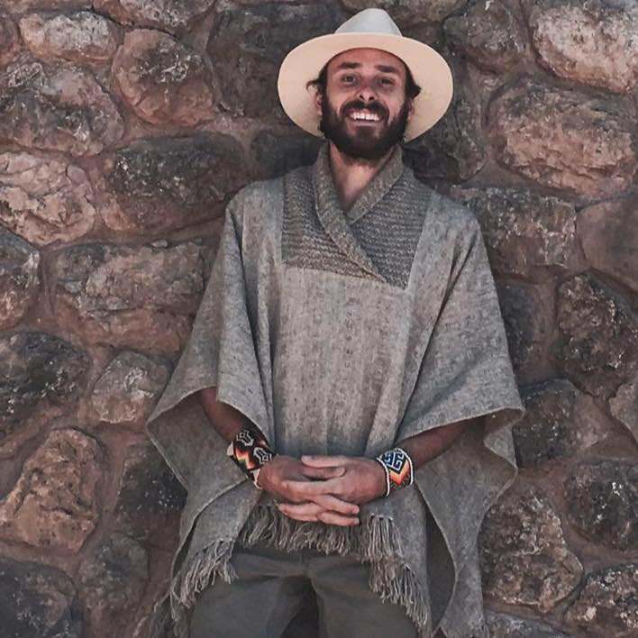 Mat Chandler in Peru - Founder of Aurora Healing Arts in Gainesville, FL